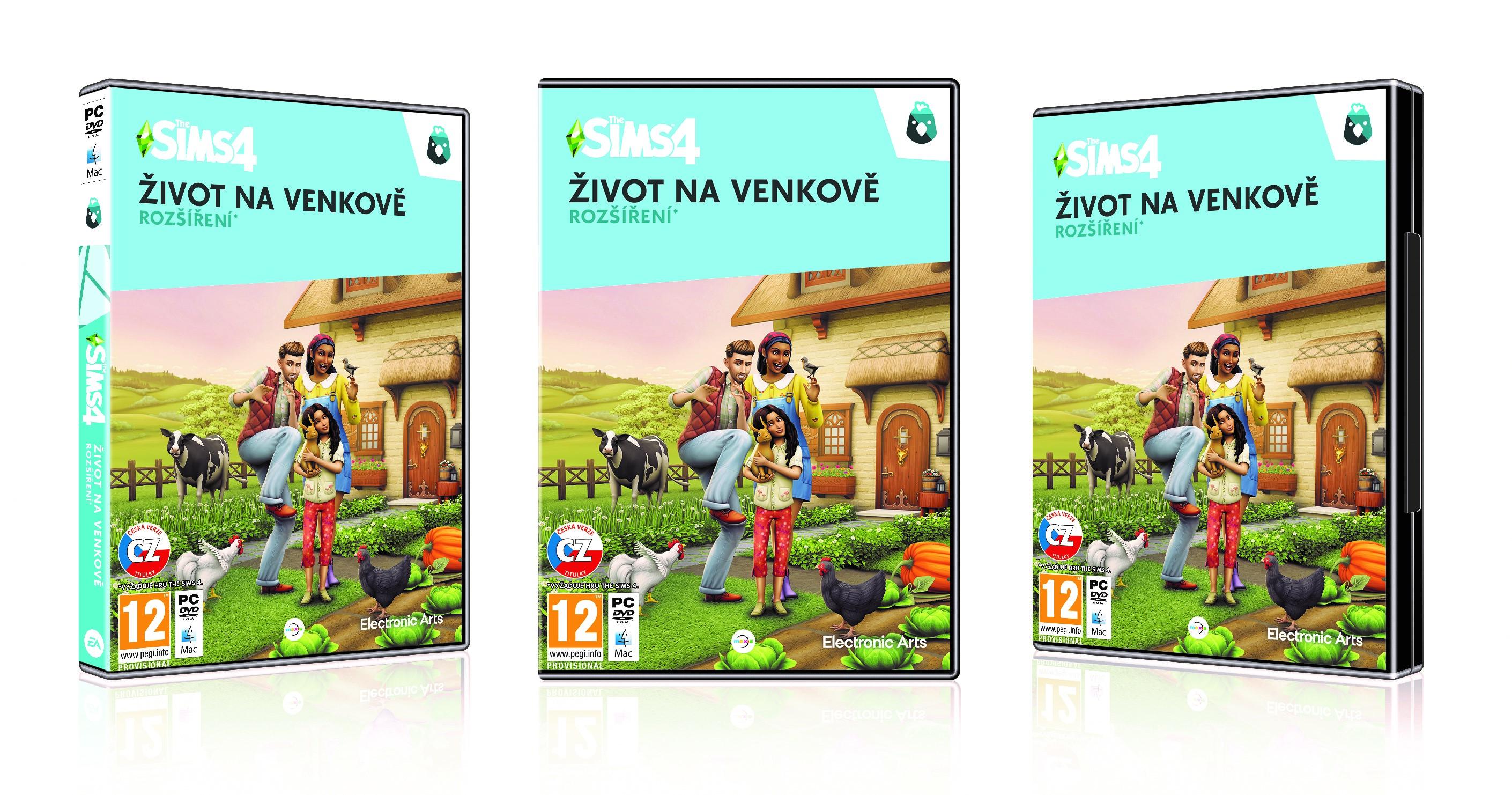 PC - The Sims 4 - Život na venkově - 5030945123941