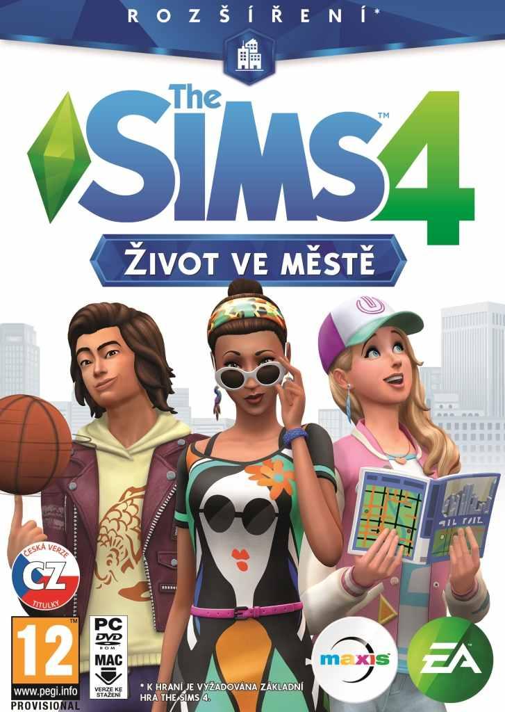 PC - The Sims 4 - Život ve městě - 5030940112858