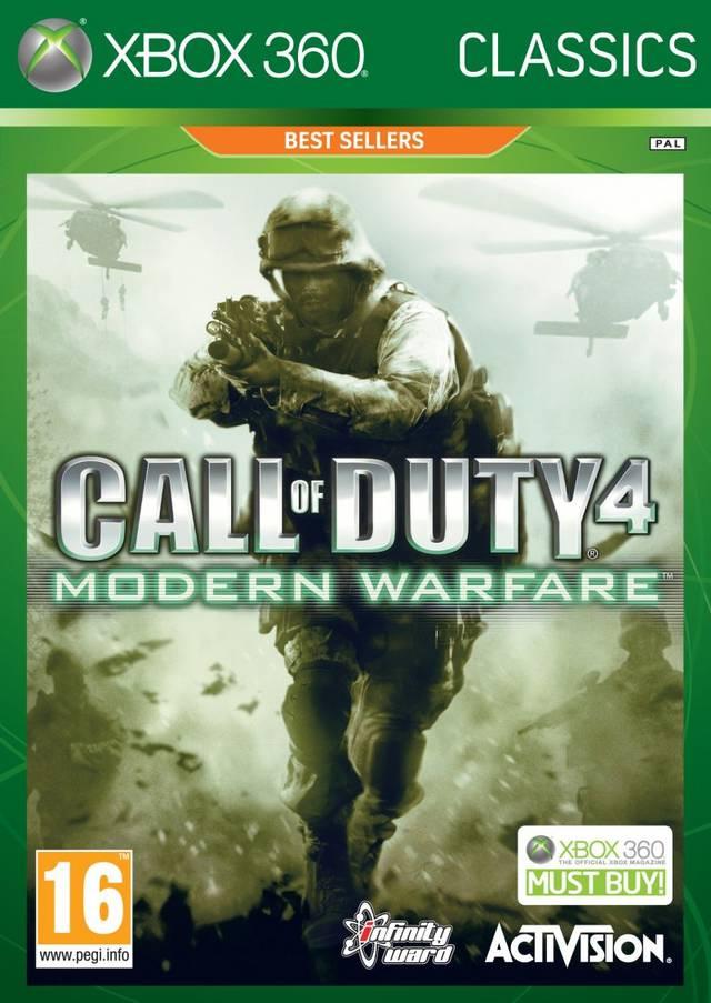 X360 - Call of Duty: Modern Warfare Classics
