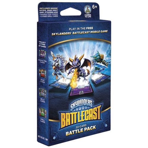 Android/iOS - Skylanders Battlecast Battle Pack Spyro/Snap Shot/Stormblade  - balíček 22 karet