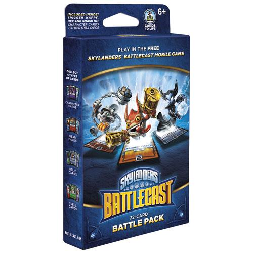 Android/iOS - Skylanders Battlecast Battle Pack Trigger Happy/Hex/Smash Hit - balíček 22 karet