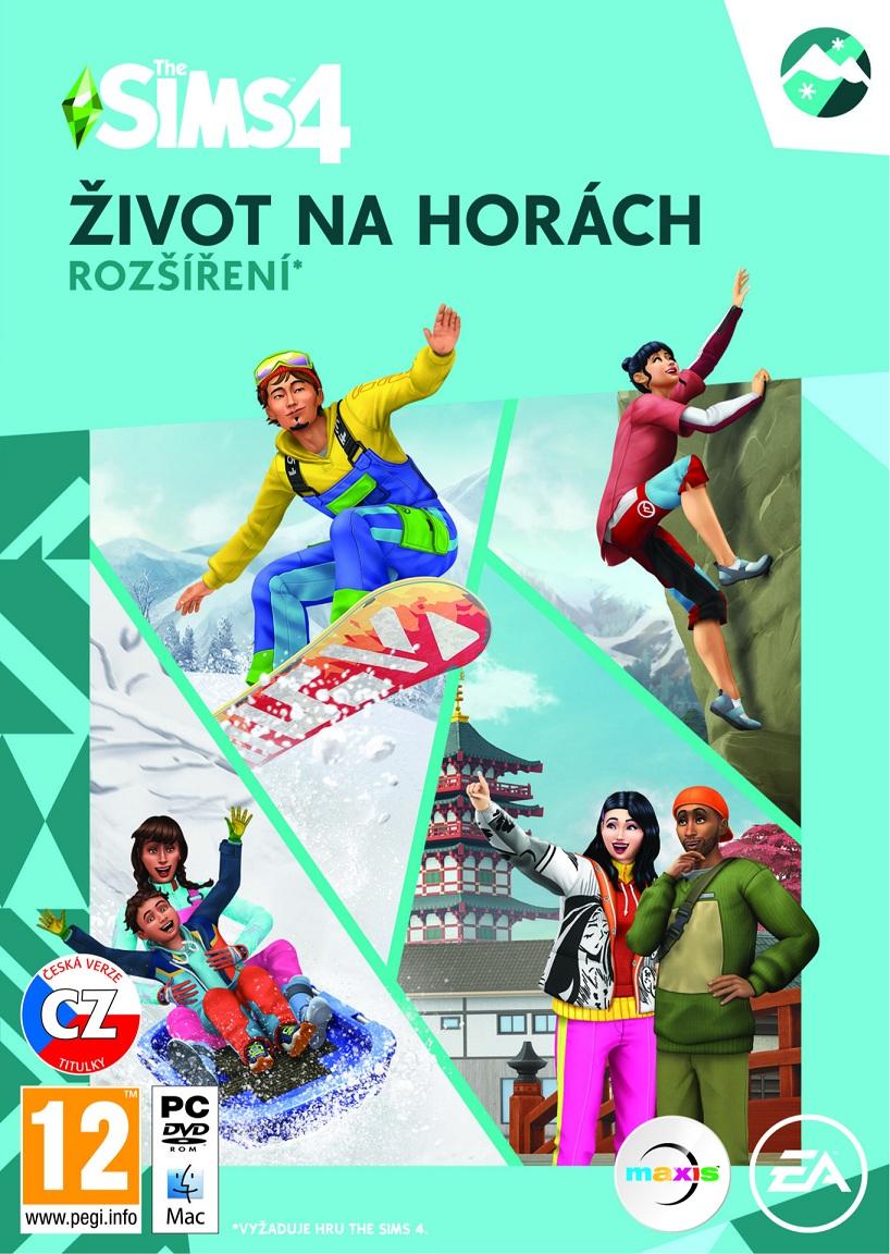 PC - The Sims 4 - Život na horách ( EP10 ) - 5030936123035