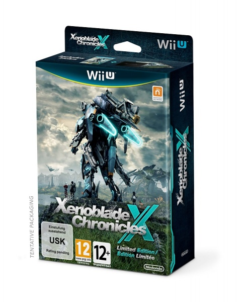 WiiU - Xenoblade Chronicles X Limited ed. pack