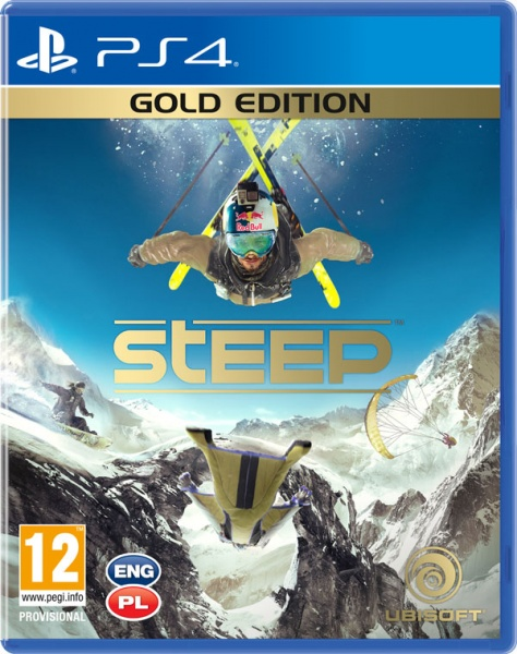 PS4 - Steep Gold Edition - vych�z� 2.12.2016