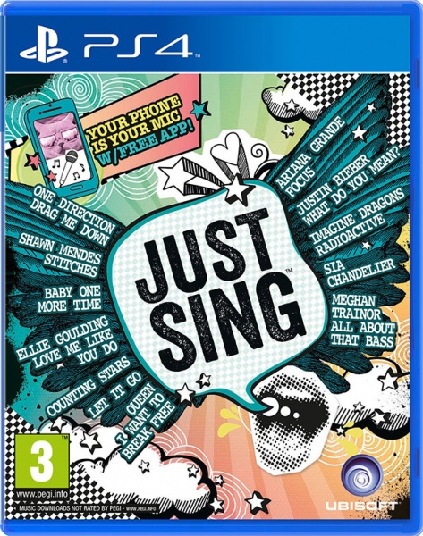 PS4 - Just Sing - vych�z� 8.9.2016