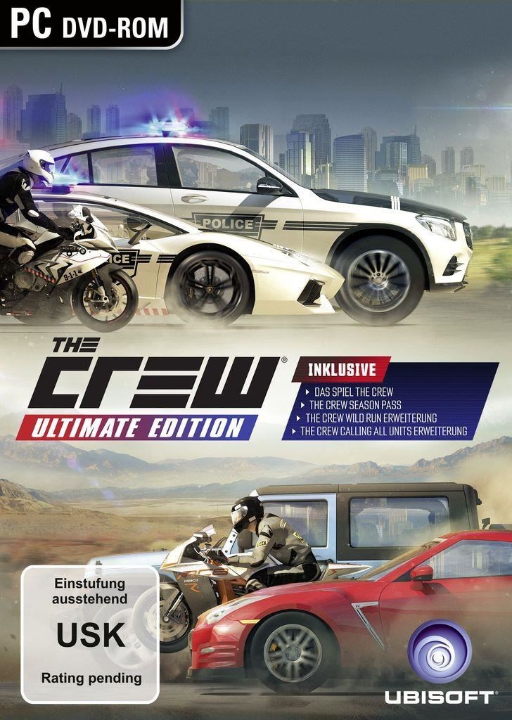 PC CD - The Crew Ultimate Edition - od 29.11.