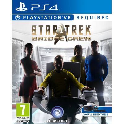 PS4 VR - STAR TREK: Bridge Crew VR
