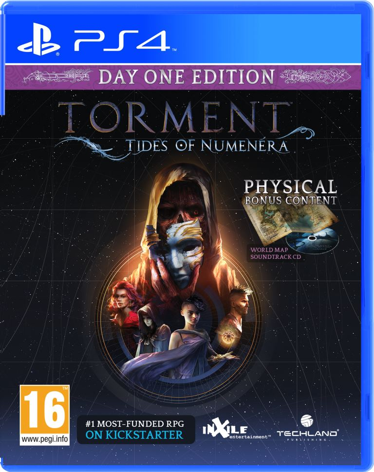 PS4 - Torment: Tides of Numenera