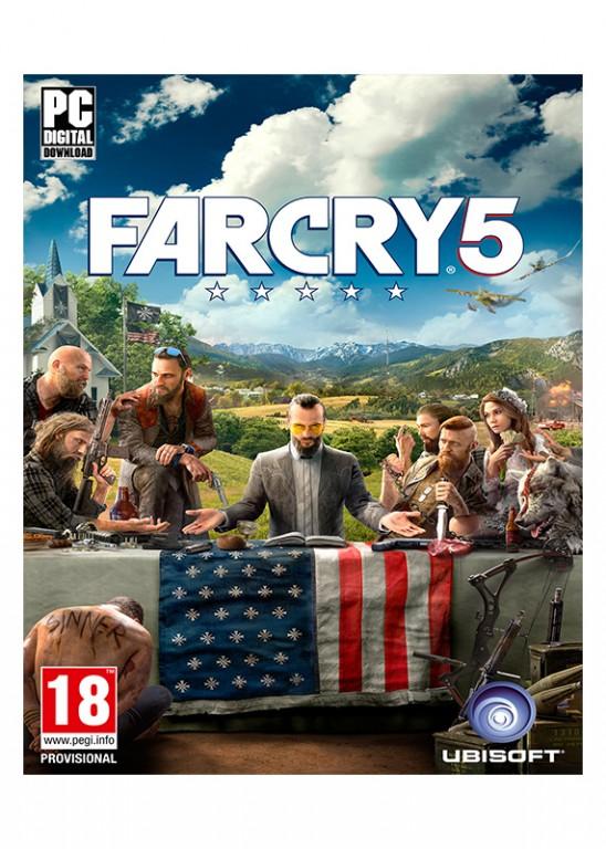 PC CD - FAR CRY 5