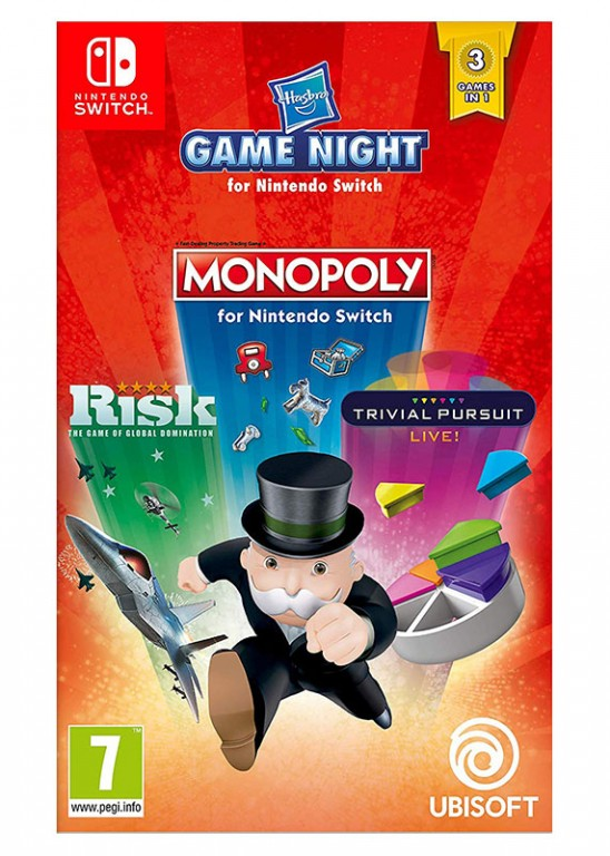 NS - PACK HASBRO (Monopoly +Risk + Trivial Pursuit)