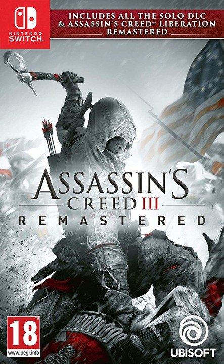 NS - Assassins Creed 3 + Liberation Remastered HD - 3307216112013