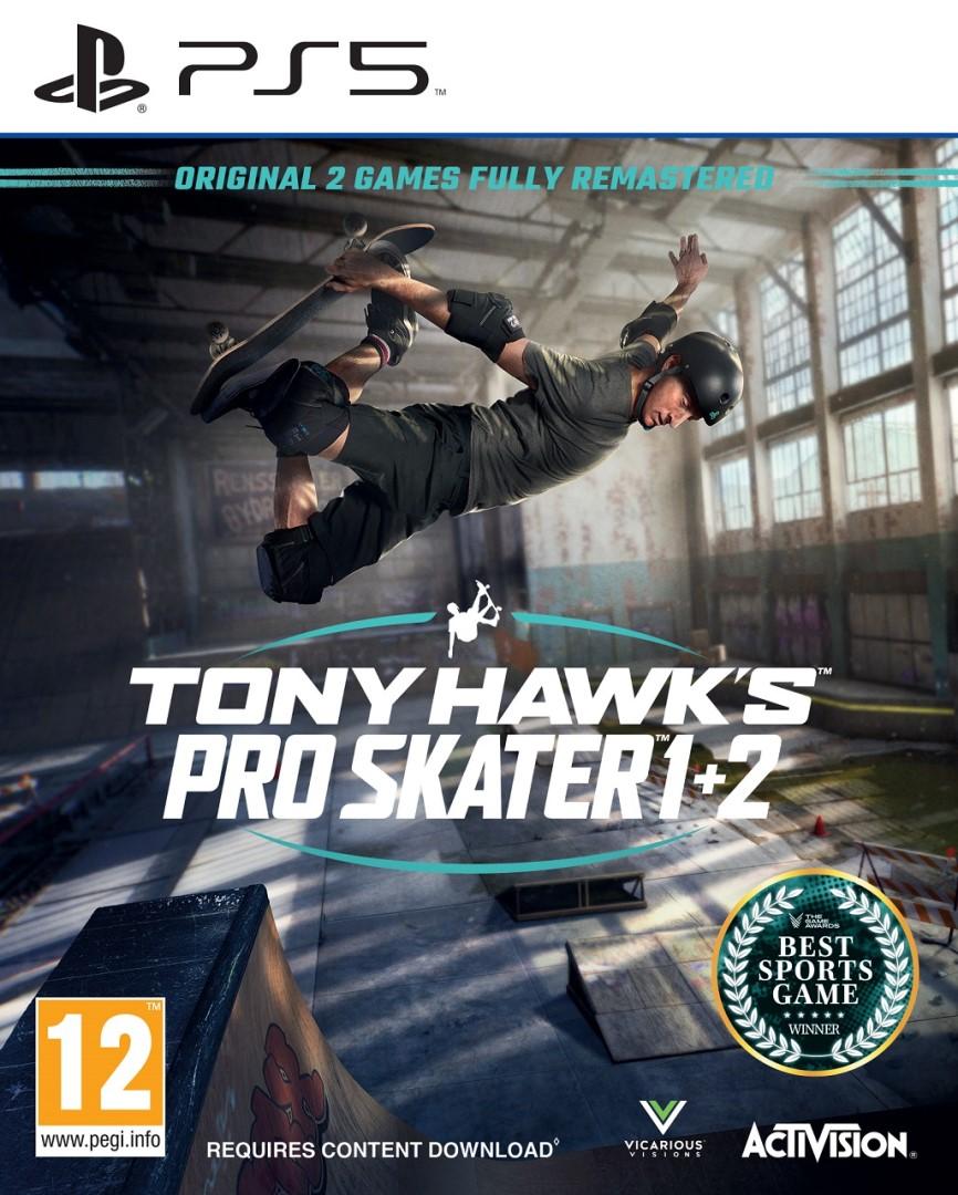 PS5 - Tony Hawk's Pro Skater 1+2 - 5030917294297