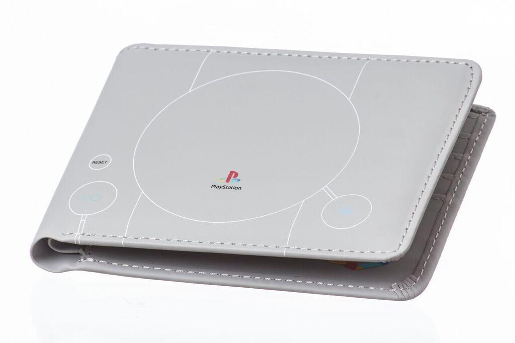 Peněženka: PlayStation 1 konzole - šedá