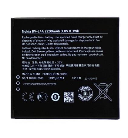 Nokia baterie BV-L4A 2200mAh Li-Ion (Bulk) - 8592118802611
