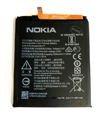 Nokia Baterie HE317  3000mAh Li-Ion (Bulk) - 8596311010552