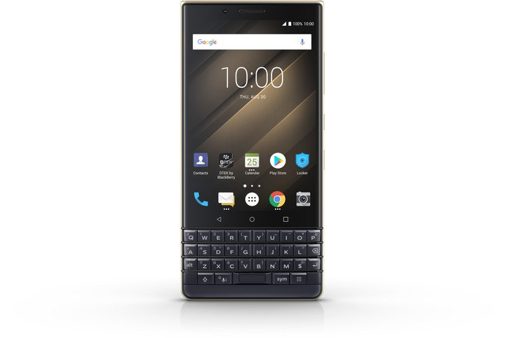 BlackBerry Key 2 LE DS 64GB Blue/Champagne (CZ Distribuce)