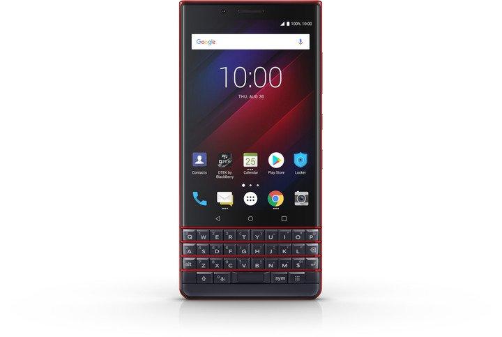 BlackBerry Key 2 LE DS 64GB Blue/Cobalt Red (CZ Distribuce)