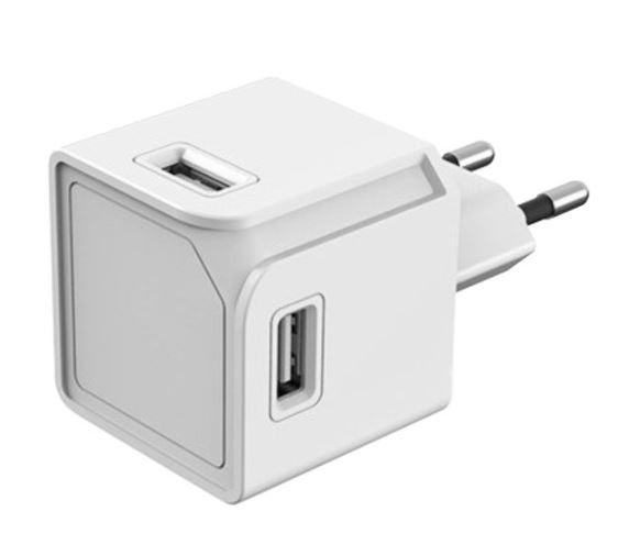 Zásuvka PowerCube USBcube ORIGINAL 4x USB-A White (3A) - 8719186010407