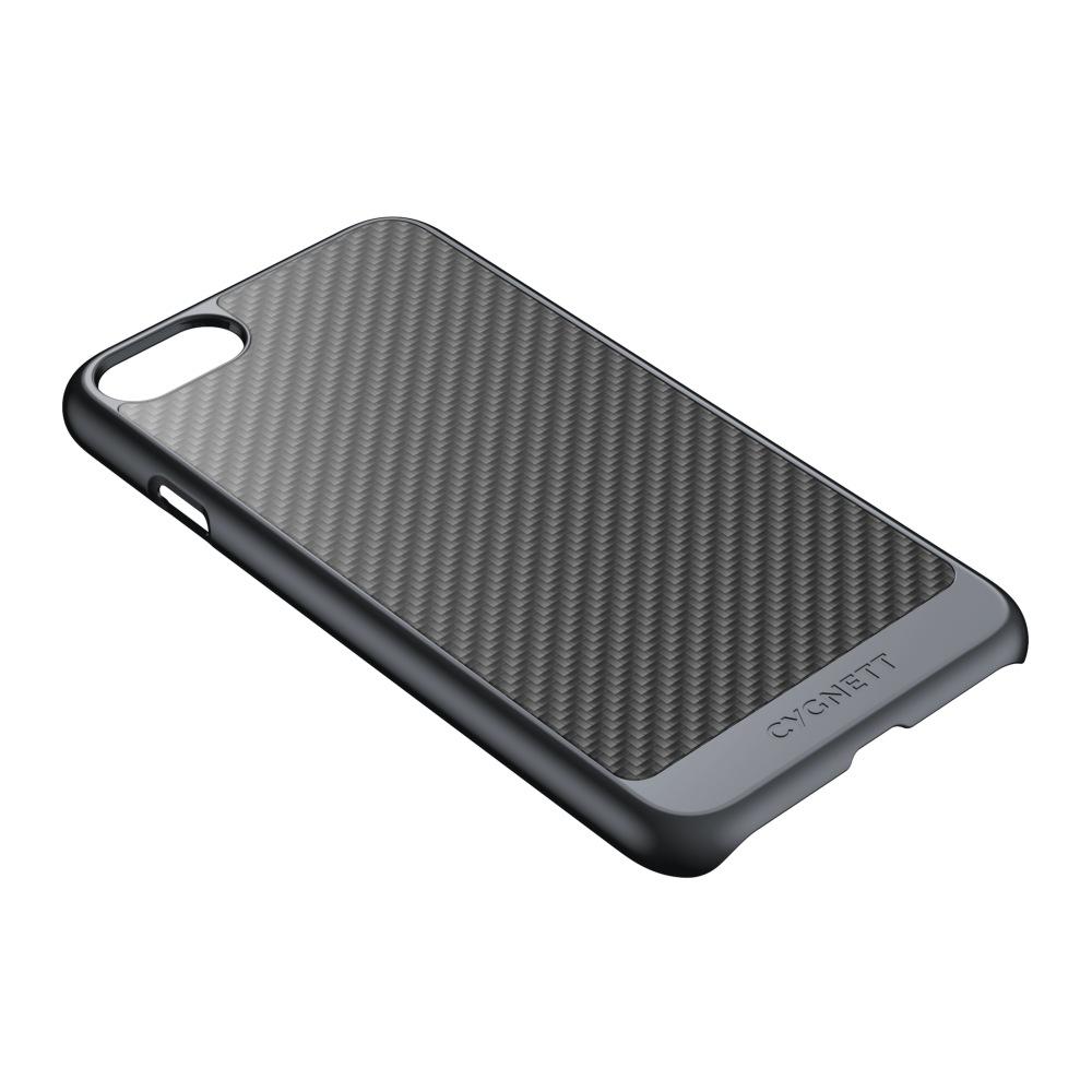 CYGNETT Gunmetal Carbon Fiber Case for iPhone 7