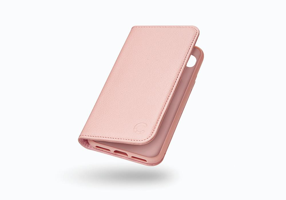 CYGNETT iPhone 8 Leather Wallet Case in Pink