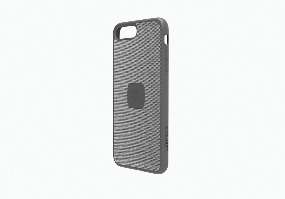 CYGNETT iPhone 8 Case with Carbon Fibre in Silver