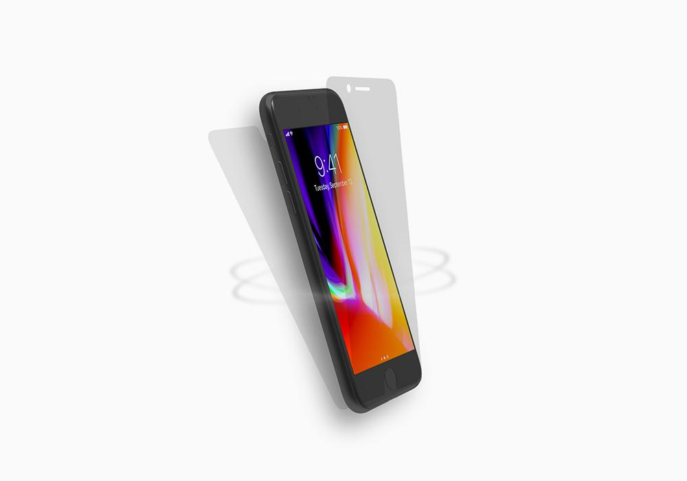 CYGNETT iPhone 8 Front & Back Screen Protector