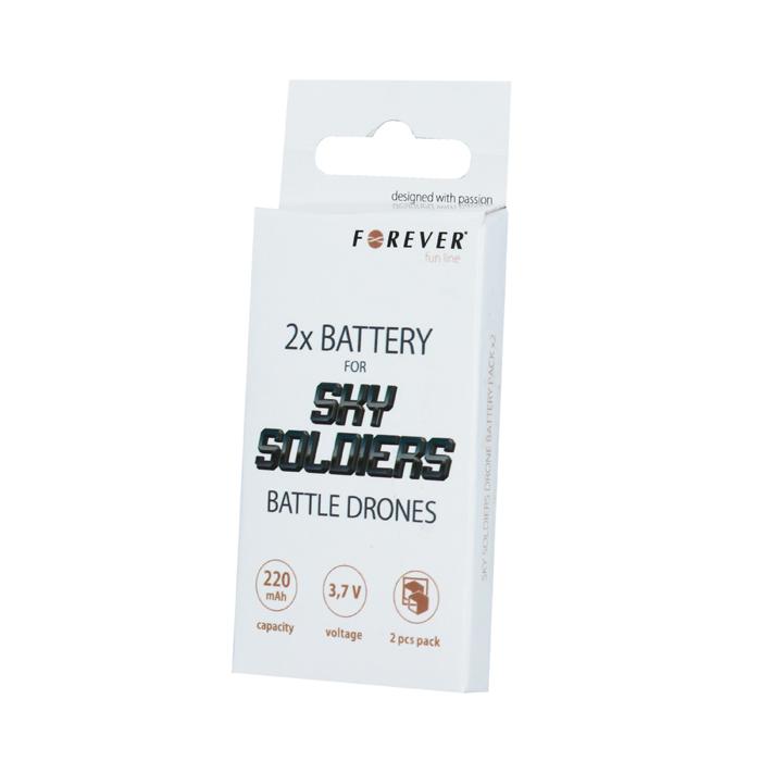 Forever náhradní baterie pro SKY SOLDIERS (2 ks)