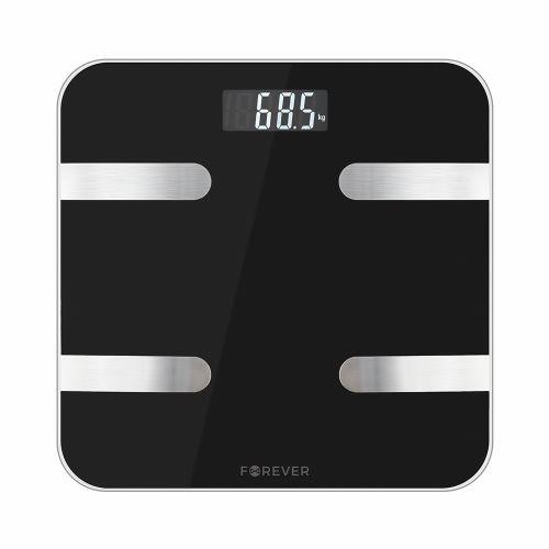 Osobní bluetooth váha Forever AS-100 černá - SMAAS100TFOBK