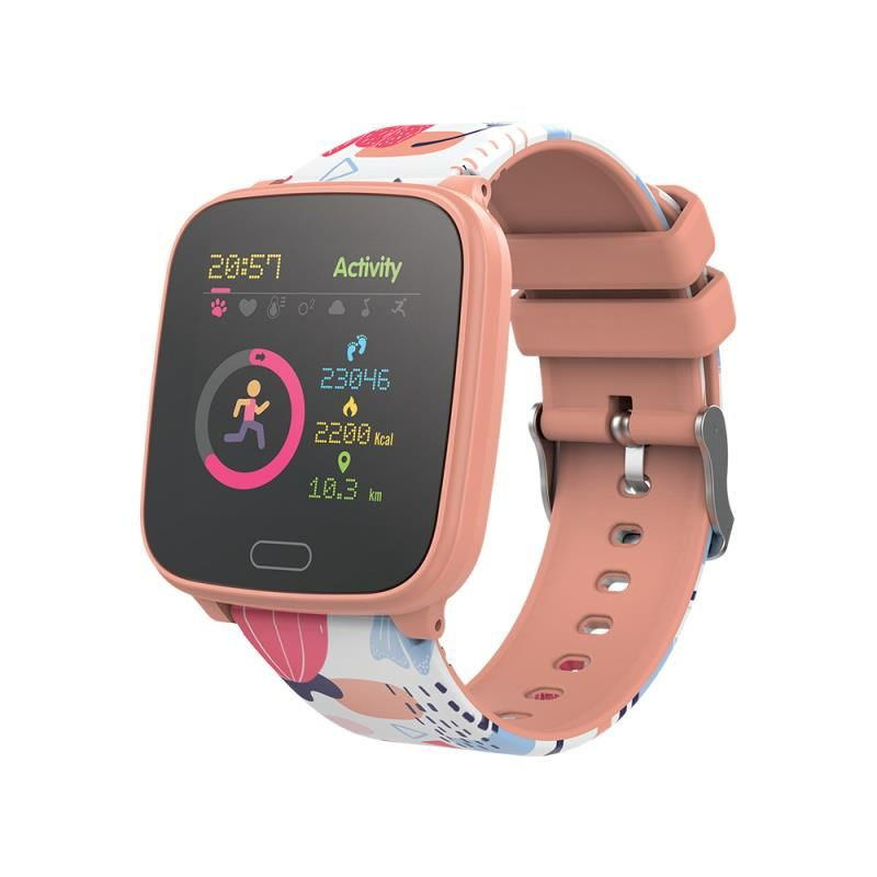 Chytré hodinky Forever IGO JW-100 oranžové - SMAWAJW100FOOR