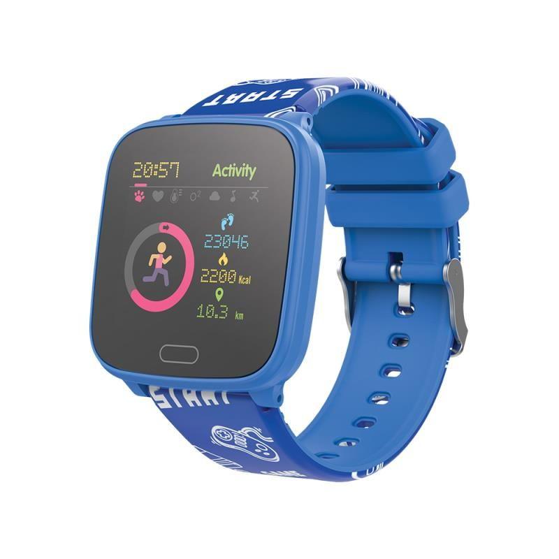 Chytré hodinky Forever IGO JW-100 modré - SMAWAJW100FOBL