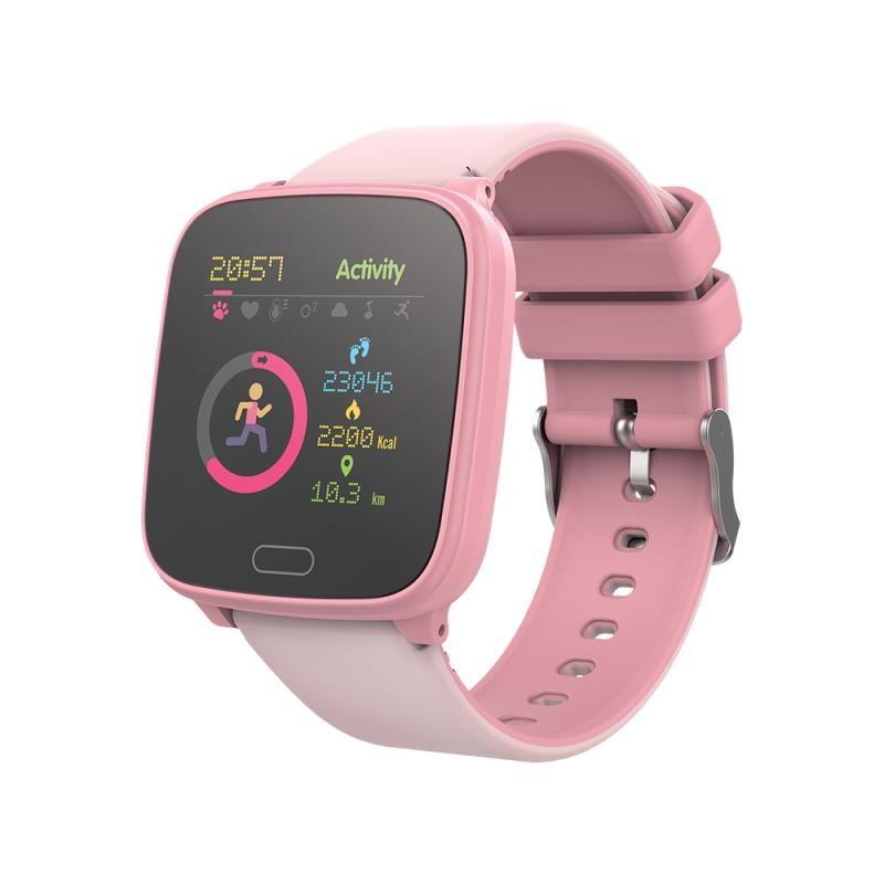 Chytré hodinky Forever IGO JW-100 růžové - SMAWAJW100FOPI