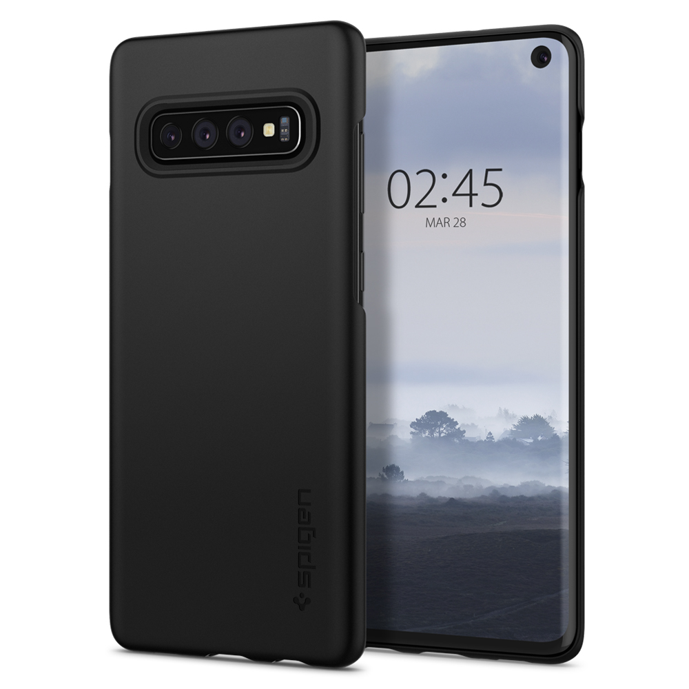Kryt Spigen Thin Fit pro Samsung Galaxy S10 černý