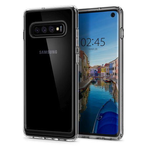 Kryt Spigen Ultra Hybrid pro Samsung Galaxy S10 transparentní