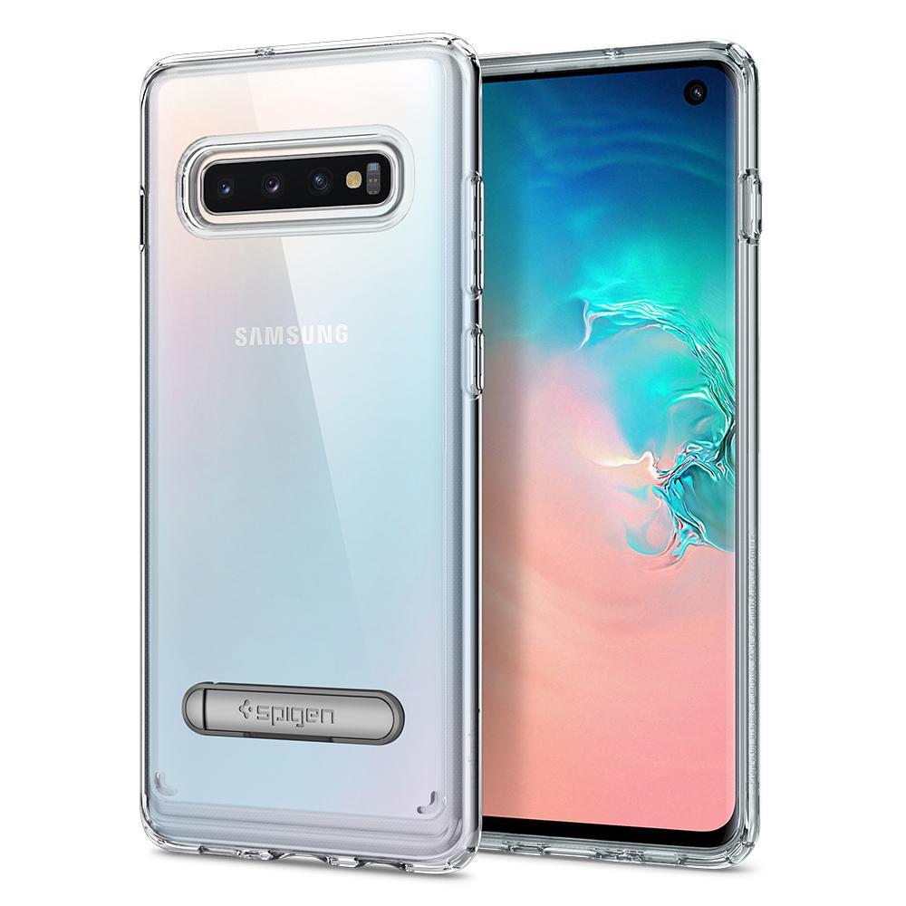 Kryt Spigen Ultra Hybrid S pro Samsung Galaxy S10 transparentní