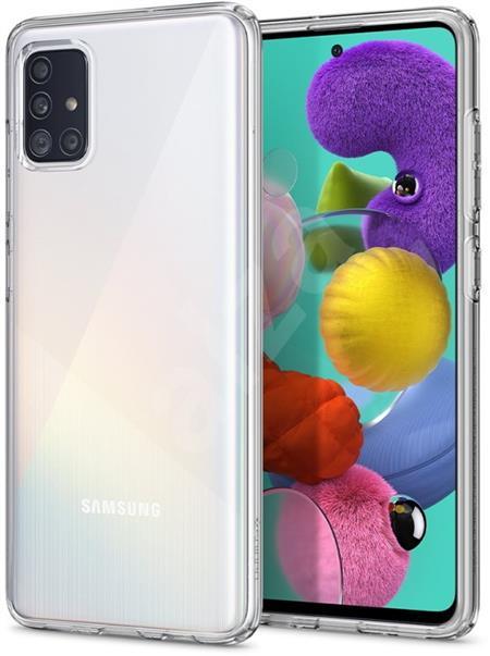 Ochranný kryt Spigen Liquid Crystal pro Samsung Galaxy A51 transparentní - ACS00564