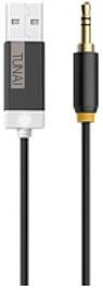 Tunai Creative hudební Bluetooth přijímač Firefly pro autorádia a domácí Hi-Fi, černý
