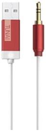Tunai Creative hudební Bluetooth přijímač Firefly pro autorádia a domácí Hi-Fi, červený