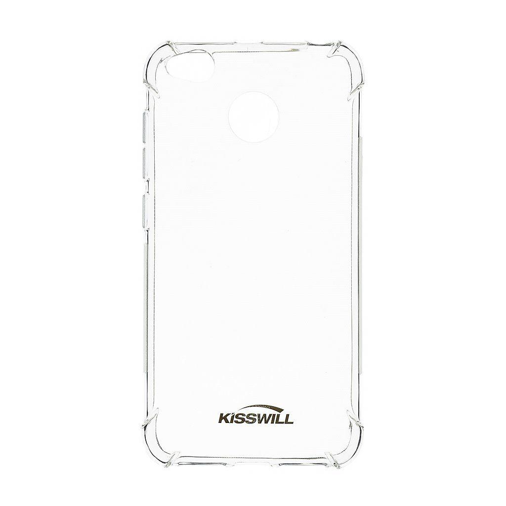 Kisswill Shock TPU Pouzdro Transparent pro Xiaomi Redmi Note 5A Prime