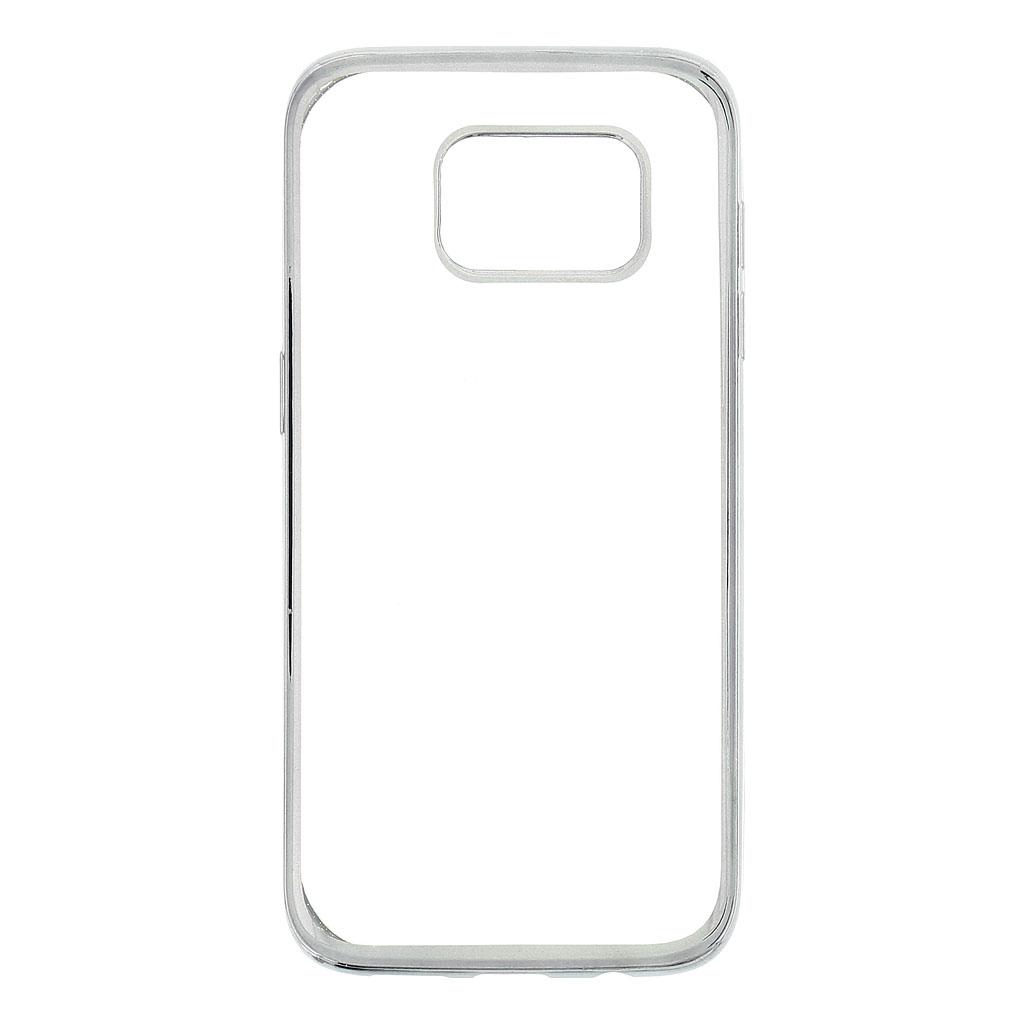 Kisswill TPU Pouzdro Transparent/Grey, Samsung G935 Galaxy S7 Edge