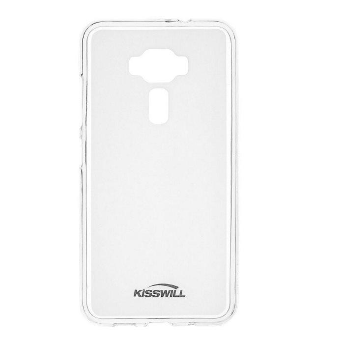 Kisswill TPU Pouzdro Transparent pro Asus ZenFone 3 Max ZC520TL