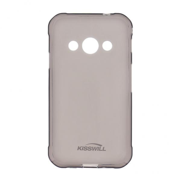Kisswill TPU Pouzdro Black pro Galaxy Xcover 3
