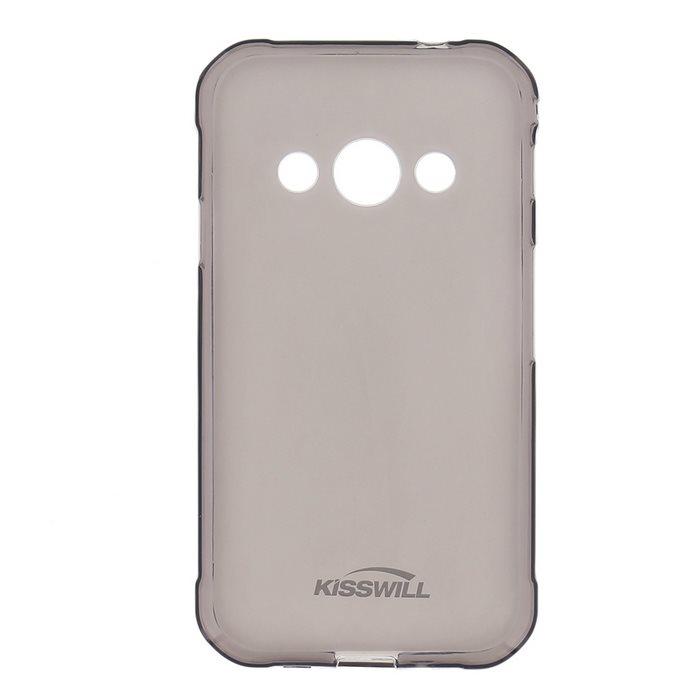 Kisswill TPU Pouzdro Black pro Samsung Galaxy XCover 4