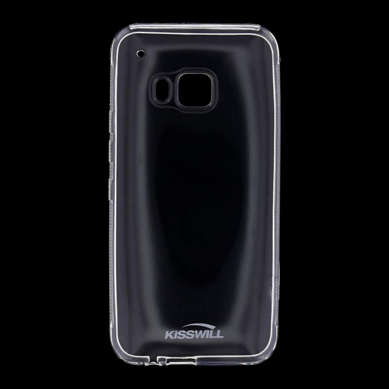 Kisswill TPU Pouzdro Transparent pro HTC M9 ONE
