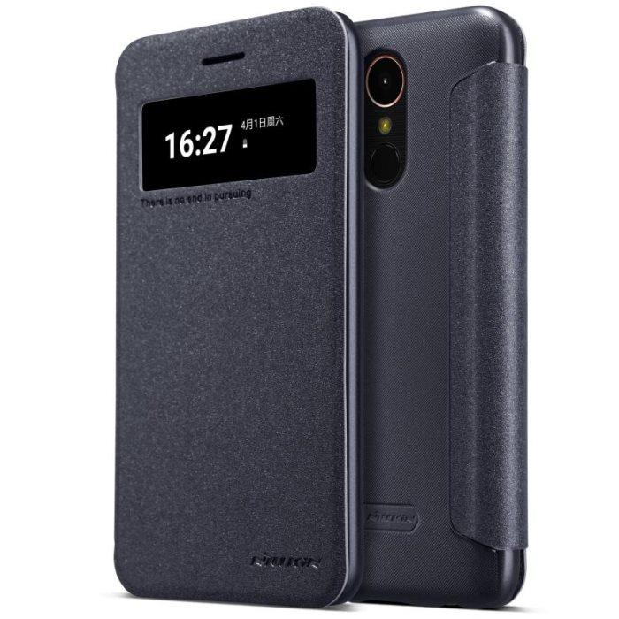 Nillkin Sparkle S-View Pouzdro Black pro LG K10 2017