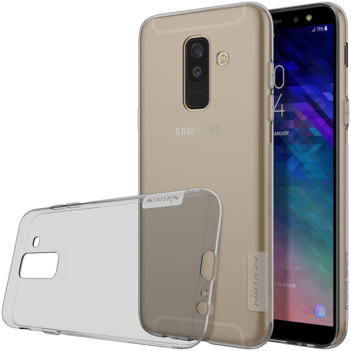 Nillkin Nature TPU Grey pro Samsung A605 A6 Plus