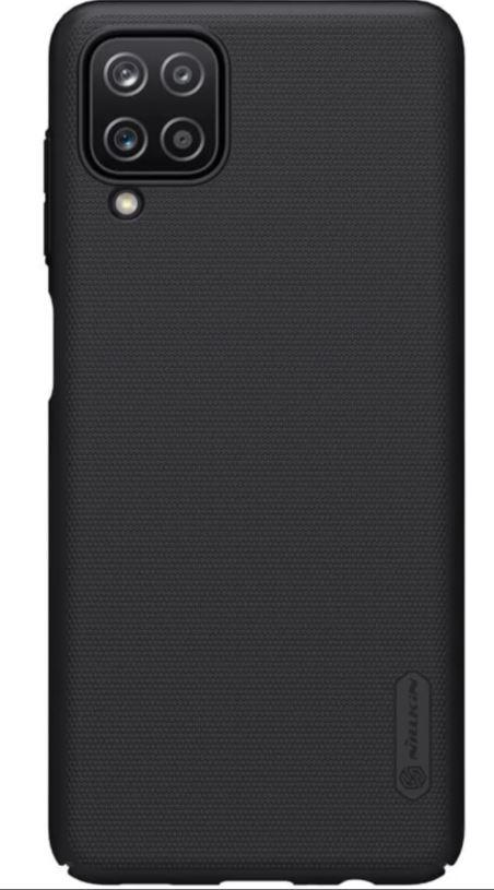 Nillkin Super Frosted Zadní Kryt pro Samsung Galaxy A12 Black - 6902048212596