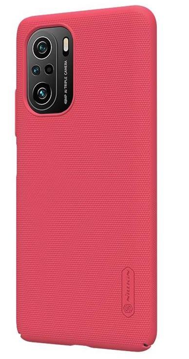 Nillkin Super Frosted Zadní Kryt pro Xiaomi Poco F3 Bright Red - 6902048214842