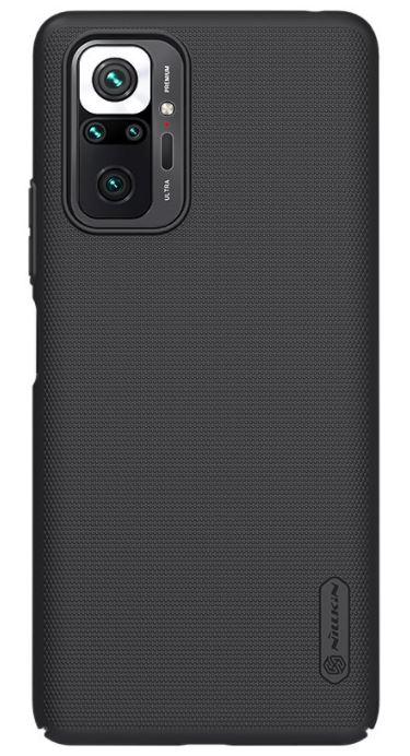 Nillkin Super Frosted Zadní Kryt pro Xiaomi Redmi Note 10 Pro Black - 6902048216198