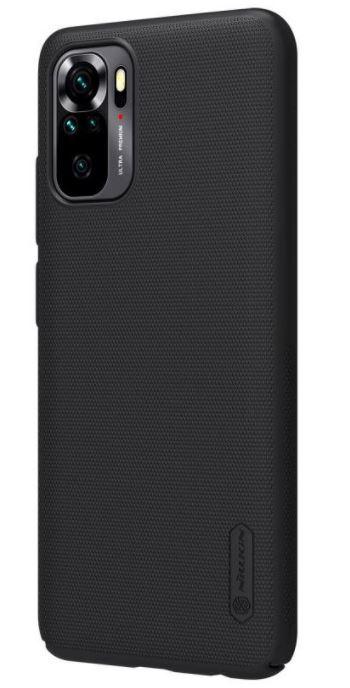 Nillkin Super Frosted Zadní Kryt pro Xiaomi Redmi Note 10/10s Black - 6902048215719