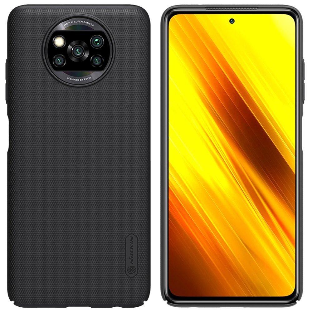 Nillkin Frosted Kryt Xiaomi Poco X3 Black - 6902048206274